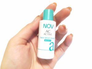 NOV ACアクティブトライアルセットの口コミ検証レビュー27