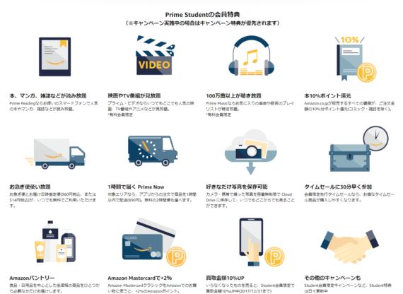 Amazon.co.jp Prime Student 学生のためのお得なプログラム