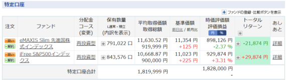 201-5-30楽天証券特定口座