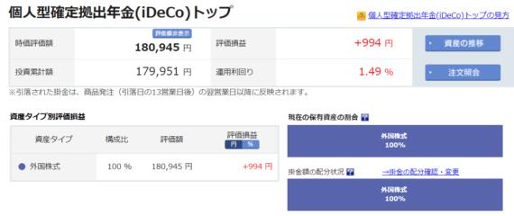 201-5-30楽天証券iDeCo