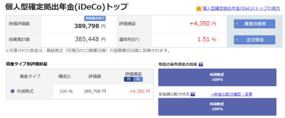 楽天証券iDeCo2019-02-25