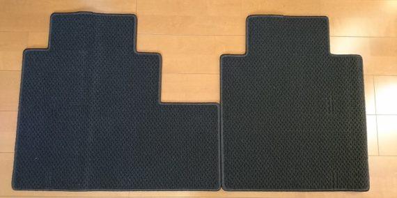 セレナc27シートレールカバーのサイズと使用感レビュー1