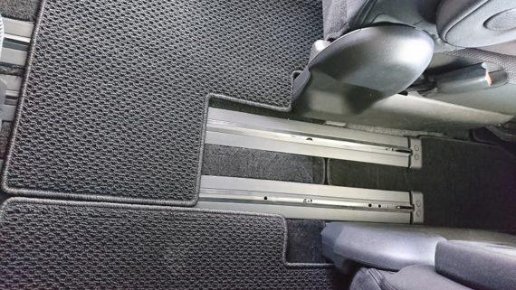 セレナc27シートレールカバーのサイズと使用感レビュー14