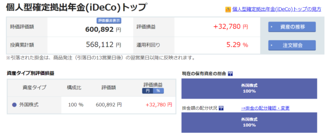 iDeCo投信2019-10-26